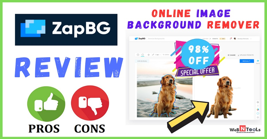 zapbg review online image background remover software