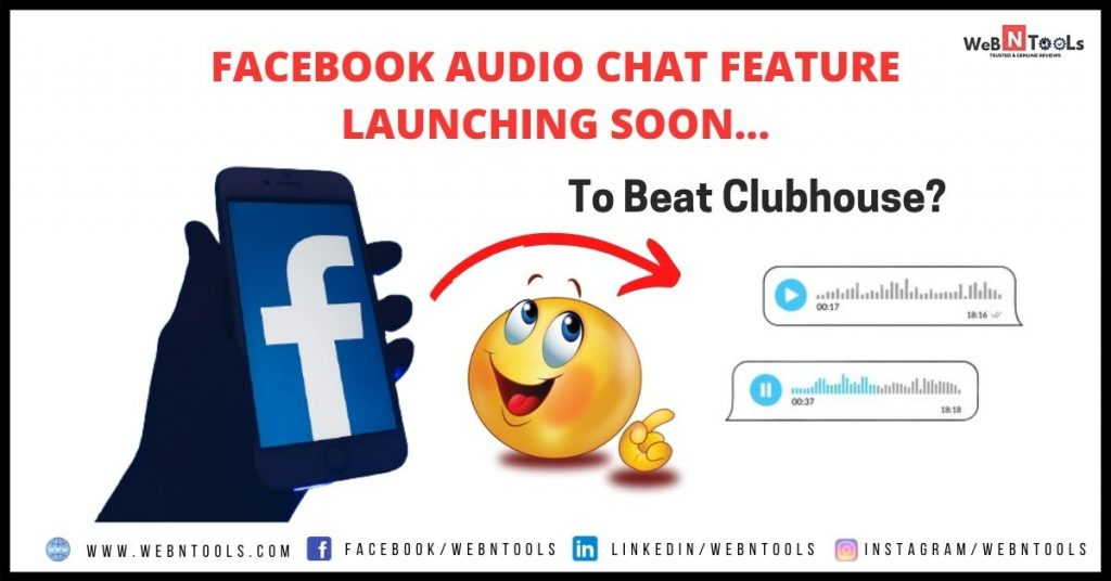 Facebook Audio Chat Feature Launching Soon, To Beat Clubhouse