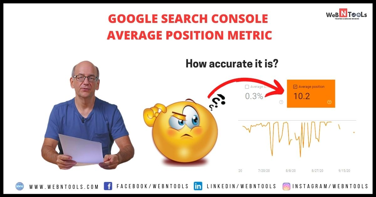 How Accurate The Average Position Metric Is In Search Console