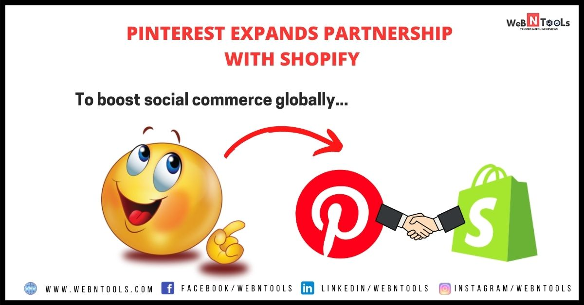 Pinterest Shopify Partnership - To Boost Social Commerce Globally in 2021