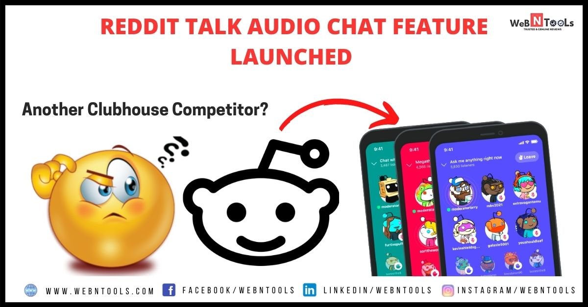 Reddit Talk Clubhouse Competitor Launched April 2021