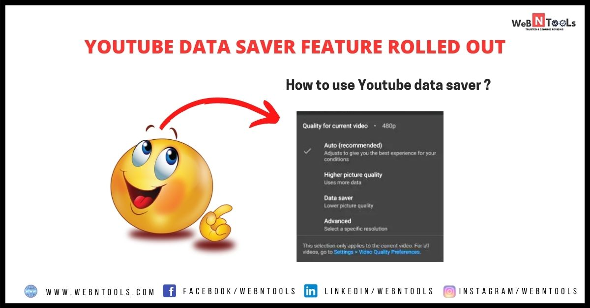 YouTube Data Saver Feature Rolled Out