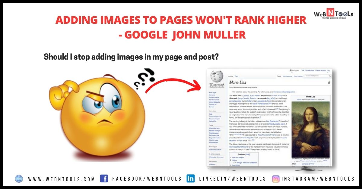 Adding Images To Pages Won't Rank Higher - Google May 2021 Update