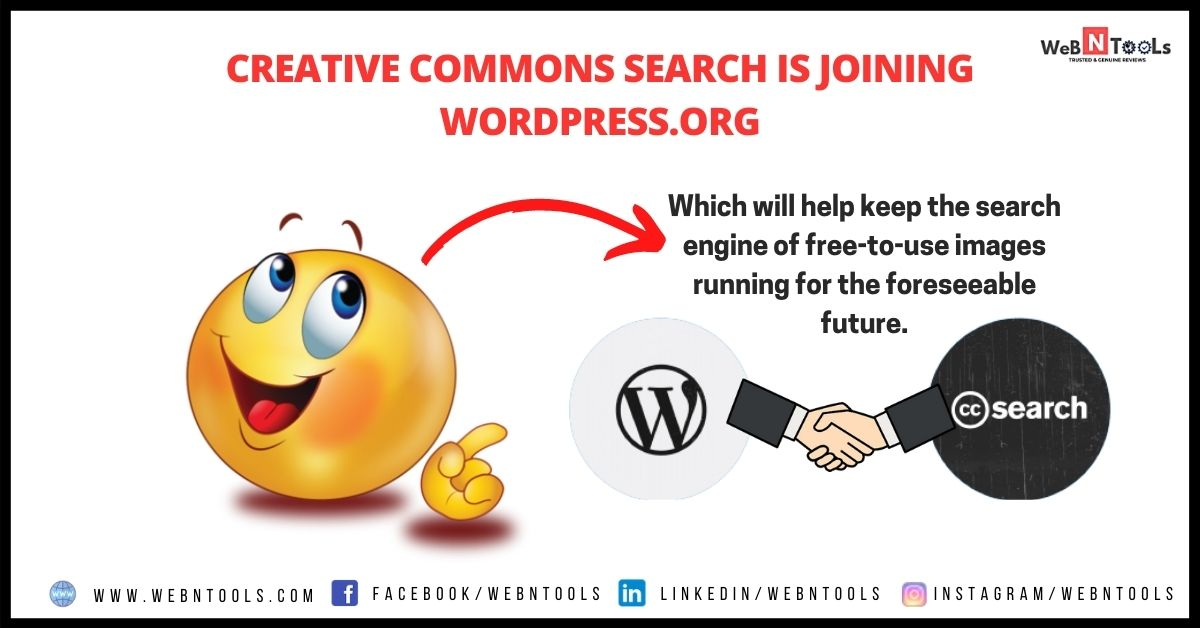 Creative Commons Search is joining WordPress.org - May 2021 Update