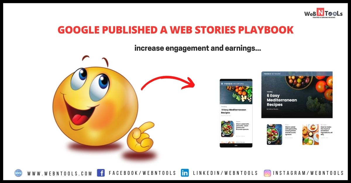 Google Published a Web Stories Playbook - May 2021 Update