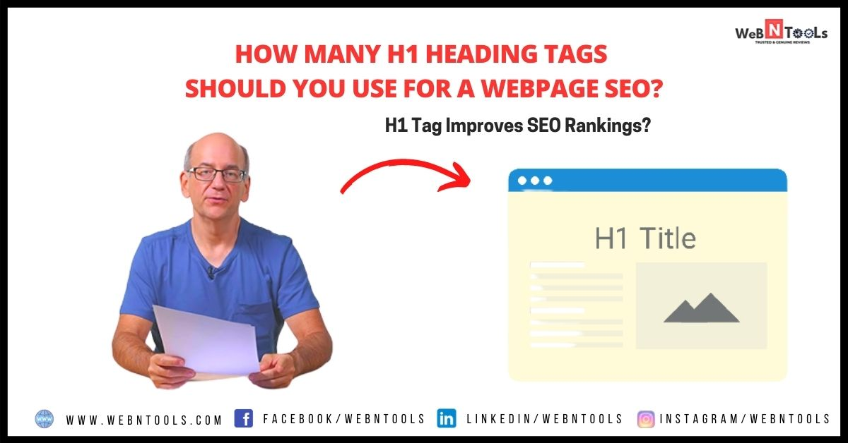 How Many H1 Heading Tags Should You Use For A Webpage SEO? - John Muller May 2021 Update
