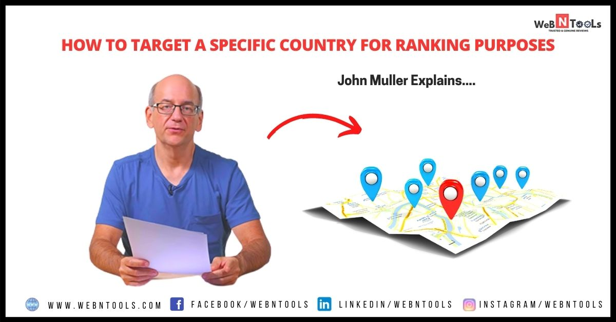How to Target a Specific Country For Ranking Purposes - John Muller Explains