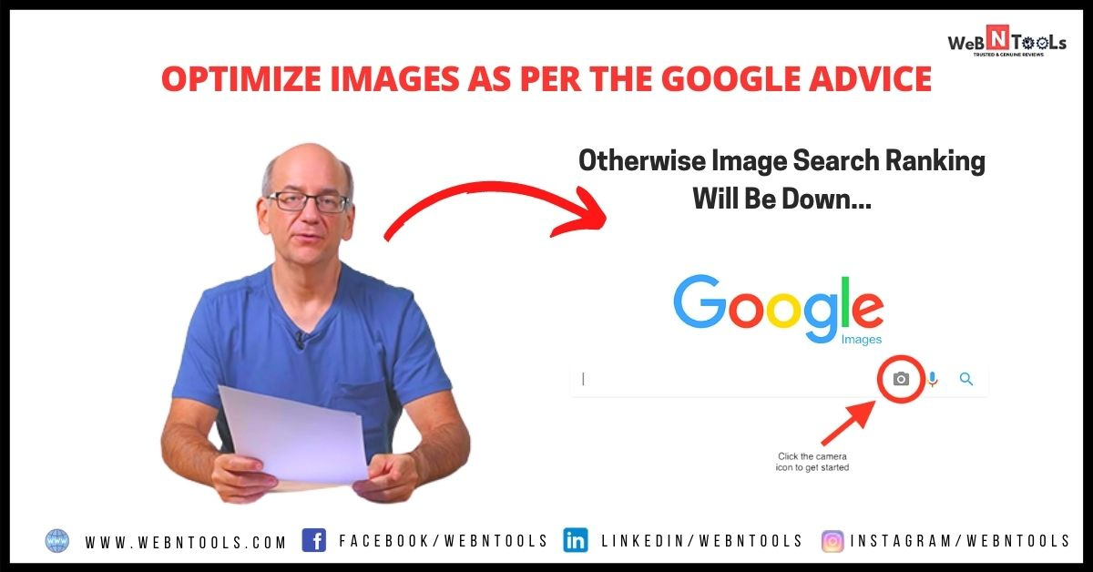 Optimize Your Images As Per The Google Advice, Otherwise Image Search Ranking Will Be Down - May Update 2021