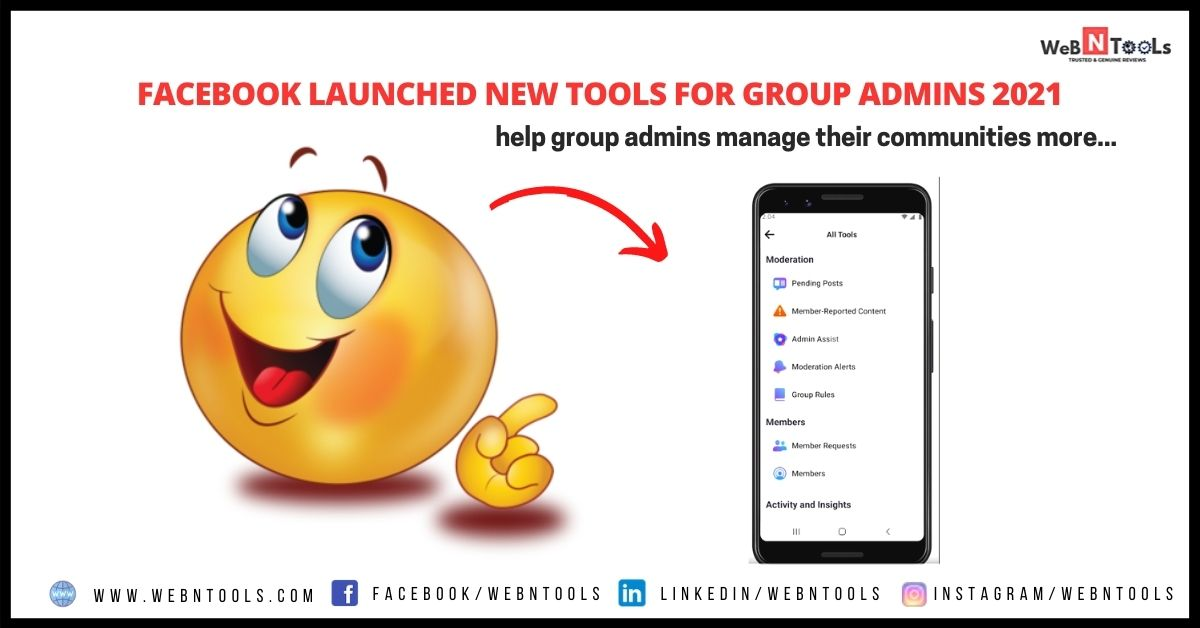 Facebook Launched New Tools For Group Admins 2021