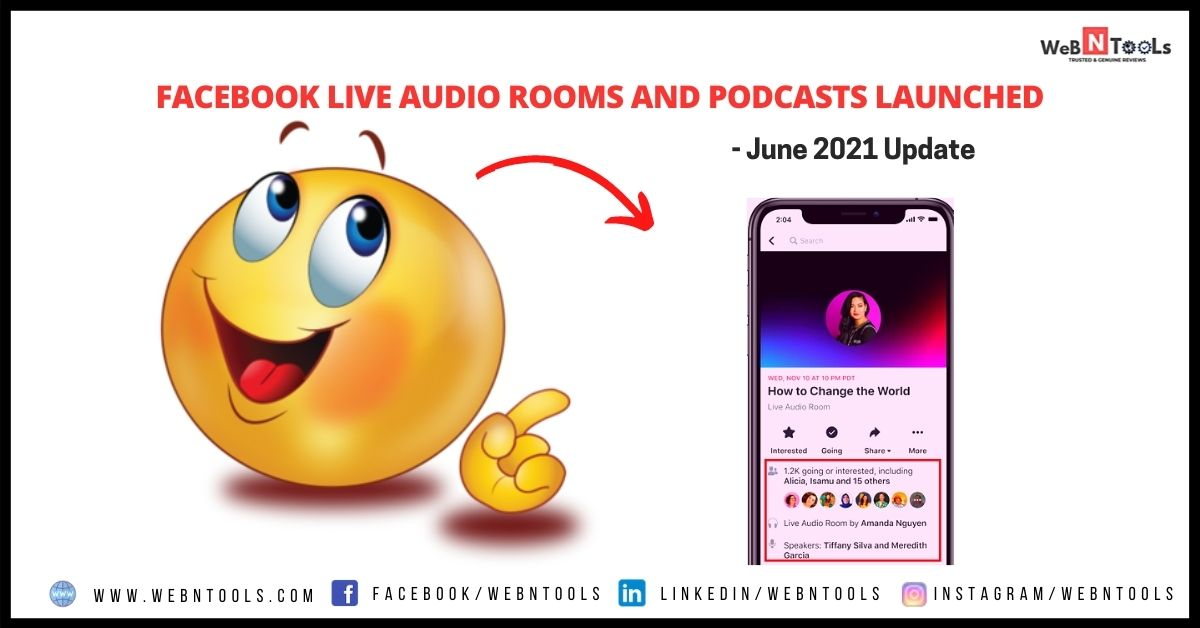 Facebook Live Audio Rooms and Podcasts Launched - June 2021 Update