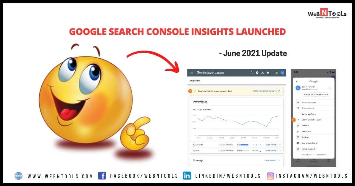 Google Search Console Insights Launched - June 2021 Update
