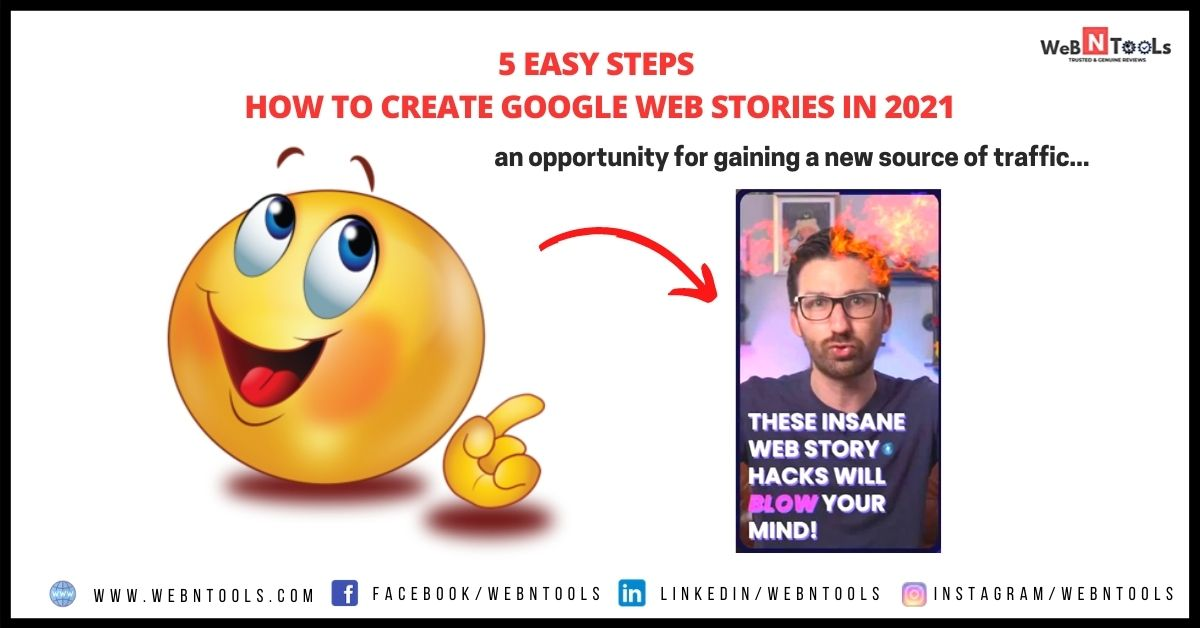 How to Create Google Web Stories in 5 Easy Steps 2021