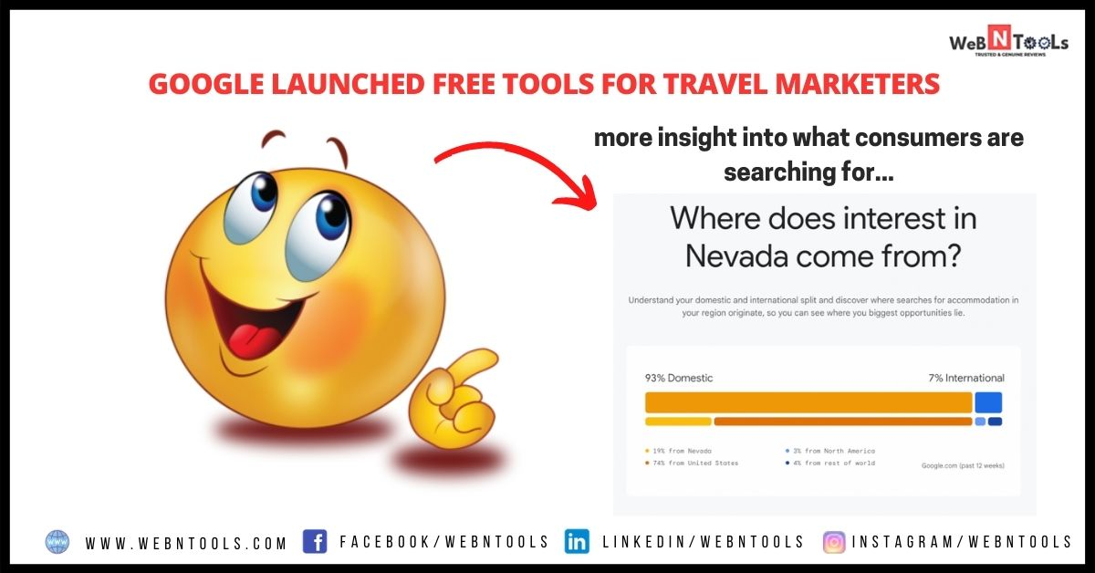 Google Launched Free Tools For Travel Marketers - July 2021 Update