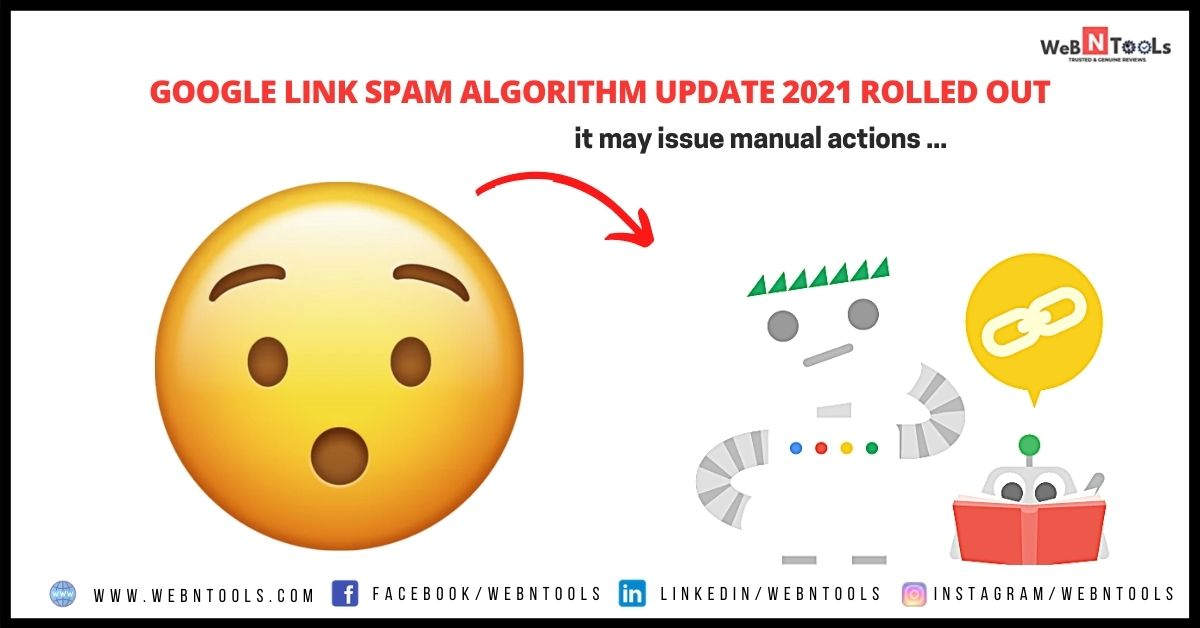Google Link Spam Algorithm Update 2021 Rolled Out