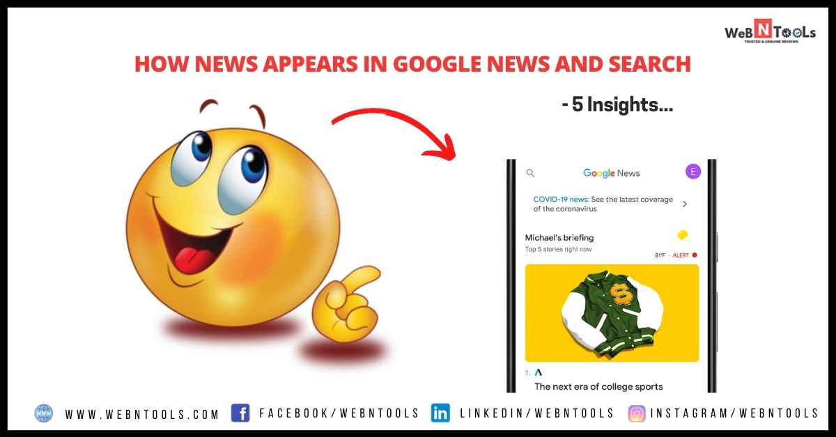 How News Appears in Google News and Search - 5 Insights