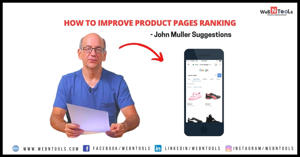How To Improve Product Pages Ranking - John Muller Suggestions