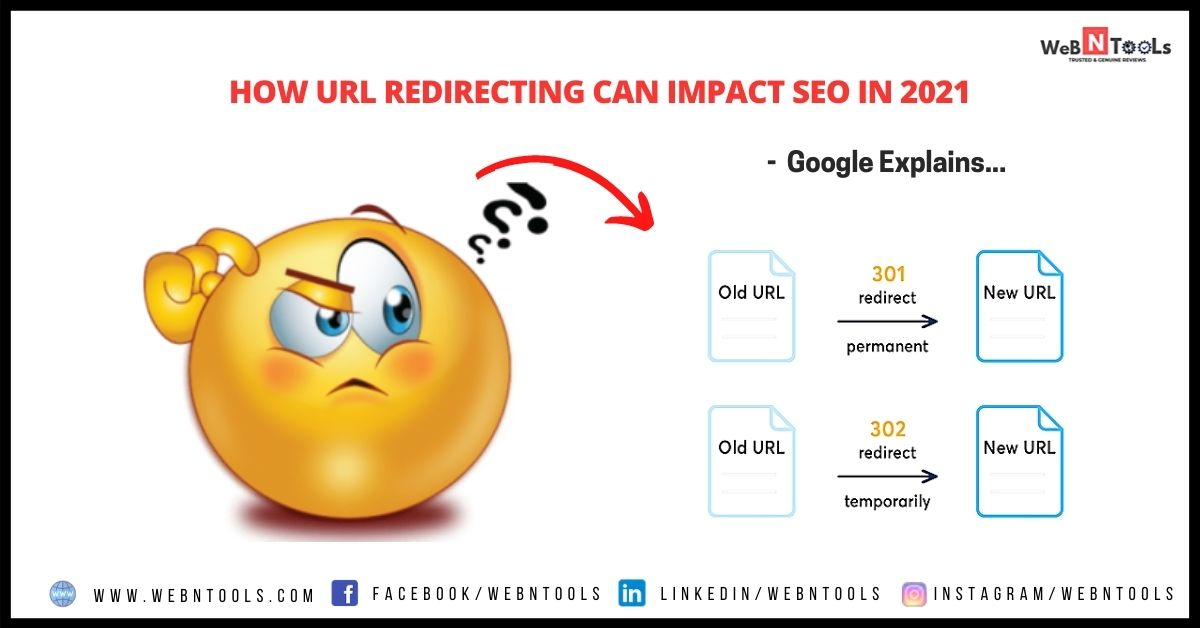 How URL Redirecting Can Impact SEO in 2021 - Google Explains