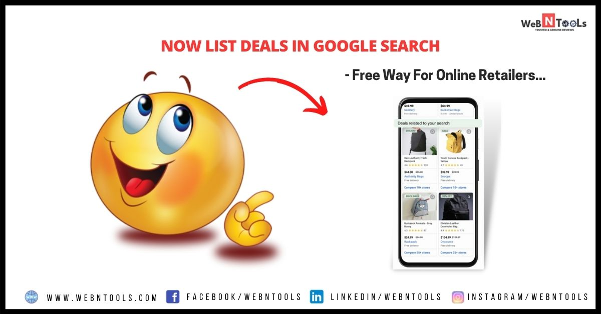 List Deals in Google Search - Free Way For Online Retailers