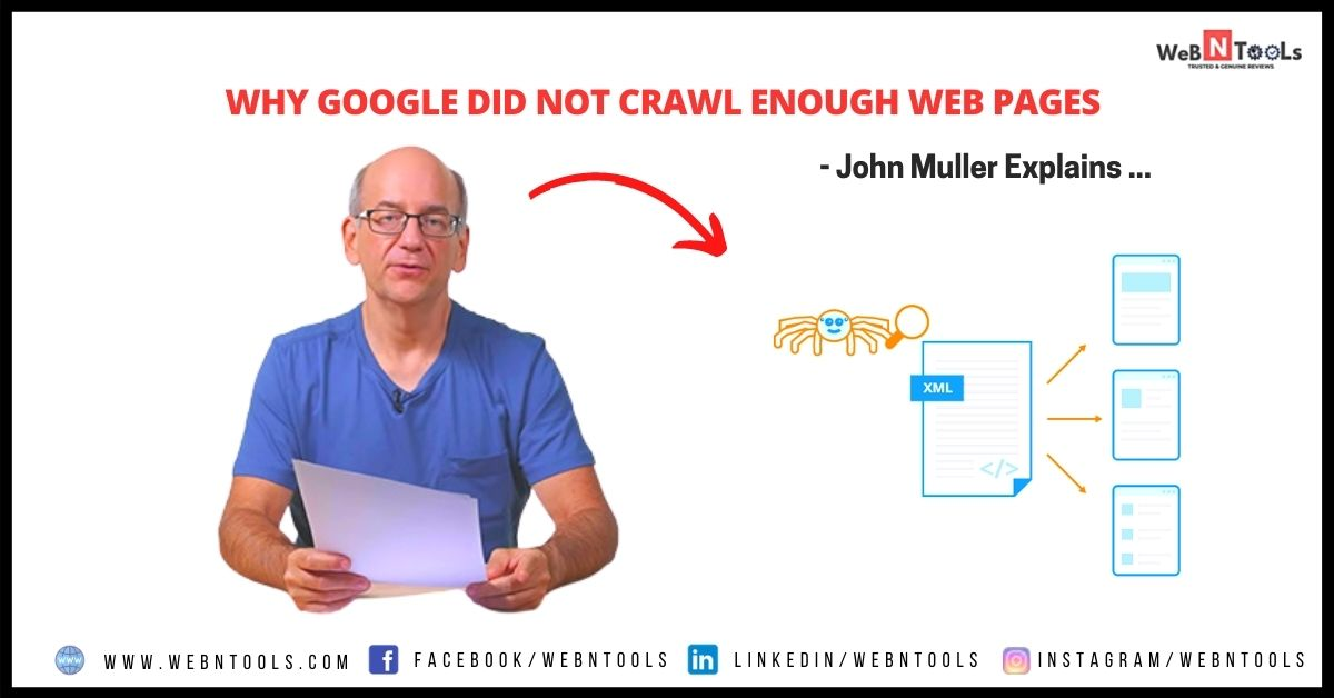 Why Google did not crawl enough web pages - John Muller Explains
