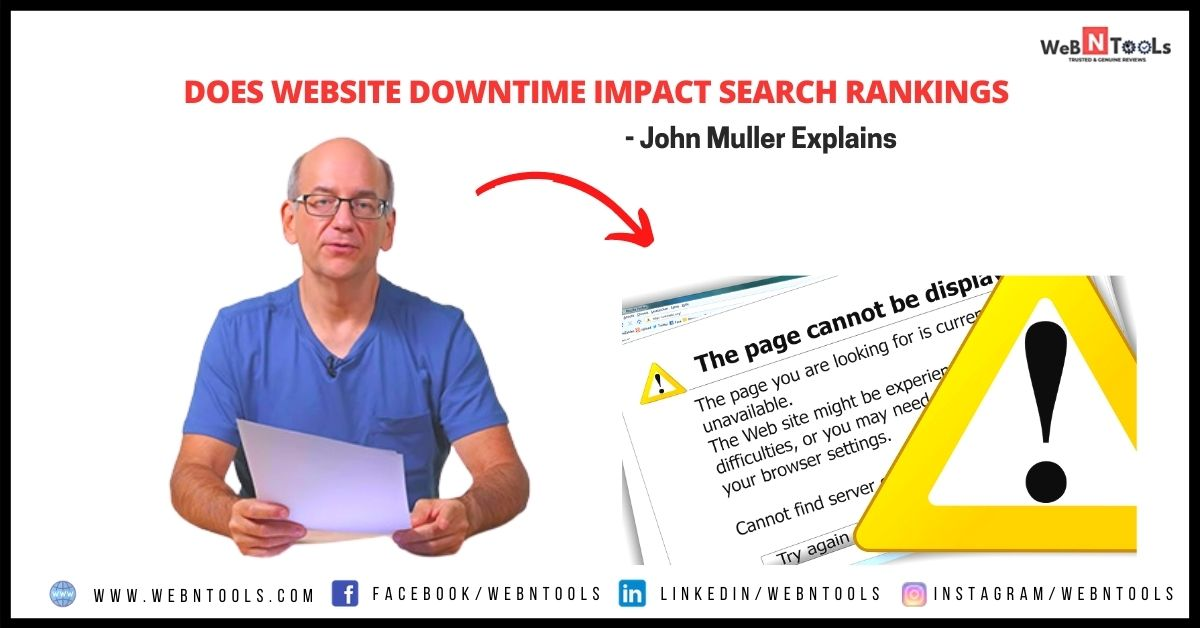Does Website Downtime Impact Search Rankings - John Muller Explains