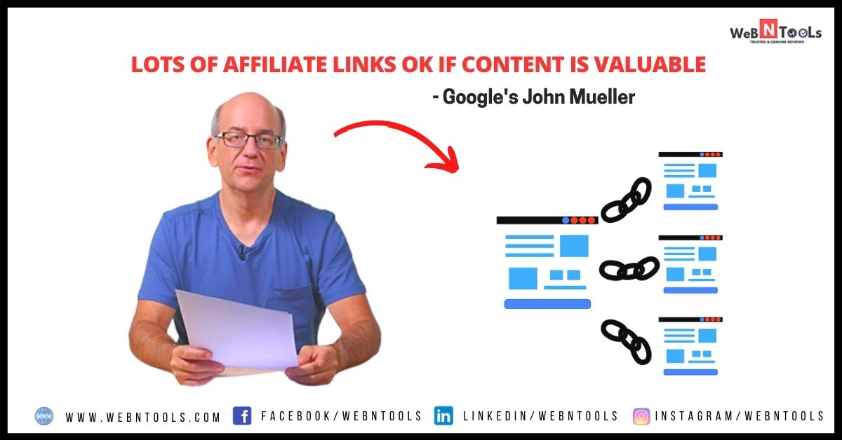 Lots of Affiliate Links OK if Content is Valuable - Google John Muller Explains