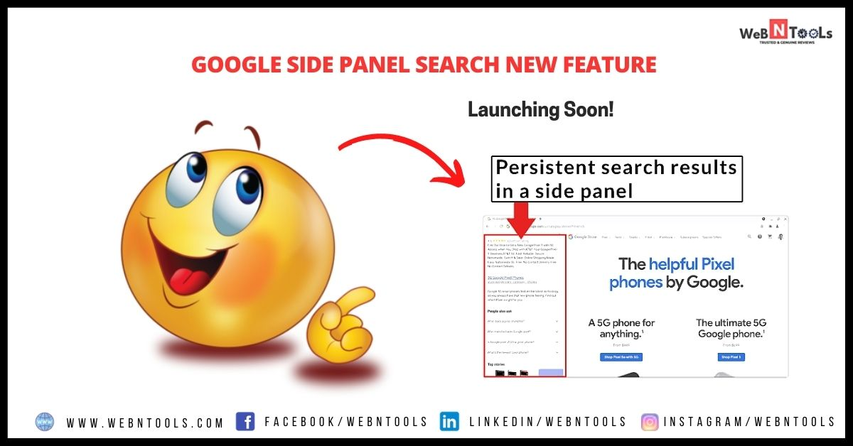 Google Side Panel Search New Feature Launching Soon