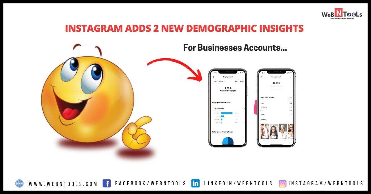 Instagram Adds 2 New Demographic Insights For Businesses