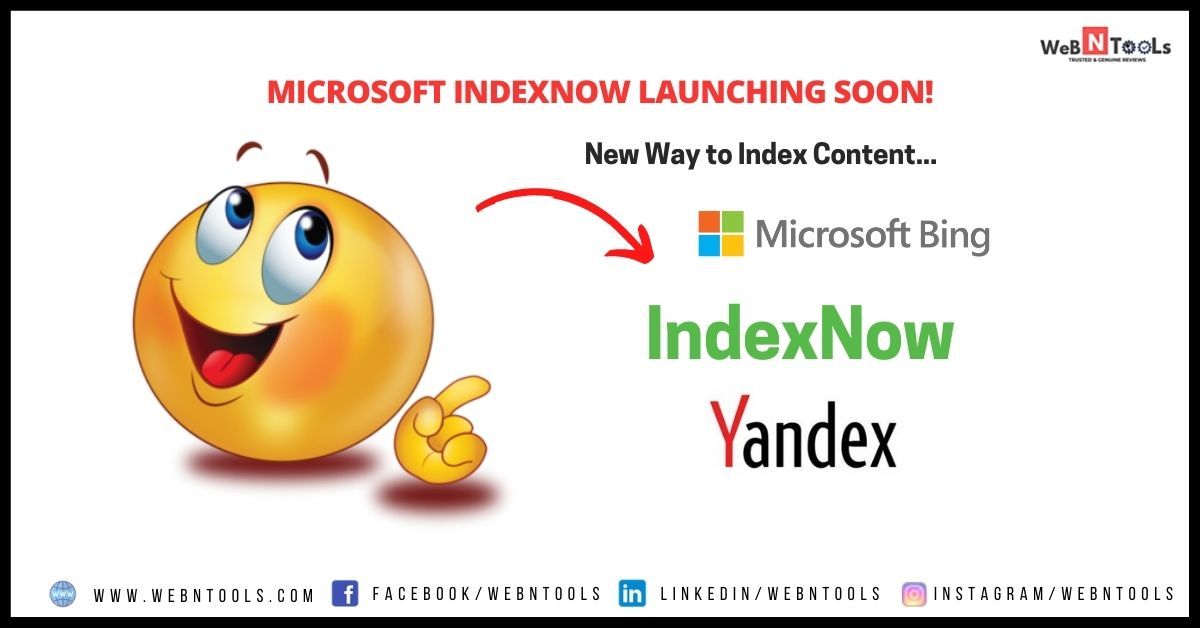Microsoft IndexNow - New Way to Index Content Launching Soon